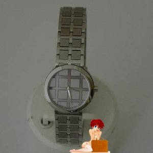 New Auth Movado Modo Ladies SS Watch Checker Board Dial