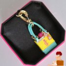 New Authentic Juicy Couture Beach Bag Tote Towel Sunglasses Bracelet Charm $58