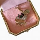 On Sale New Authentic Juicy Couture Ltd Ed Yorkie Sleigh Charm Bracelet