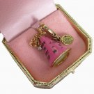 New Juicy Couture New Years Eve Party Hat Ltd Ed Charm