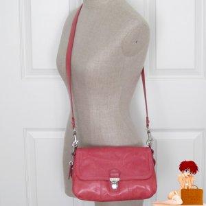 New Authentic Poppy Distressed Leather Layla Poppy Crossbody Camelia Bag 18160