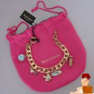 New Authentic Juicy Couture Beach Surf Hawaii Theme Pre-Assembled Charm Bracelet