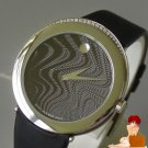 New Authentic Movado Capelo Dia Black Watch Large Sized Museum Dial Black $1550
