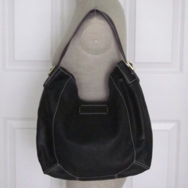 New Authentic Kate Spade Malva Marceau Black Soft Leather Hobo Purse Bag $595