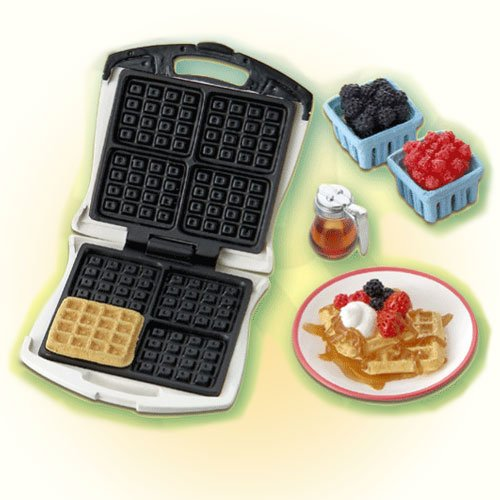 Re-Ment Fun Meals #2 Waffles. Barbie sized kitchen 1:6