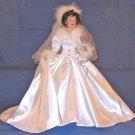 20in Porcelain Bride Doll WINTER ROMANCE by Sandra Bilotto from Ashton Drake Galleries