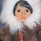 Porcelain Doll Tulu in American Diary Dolls Collection by Linda Mason from Georgetown