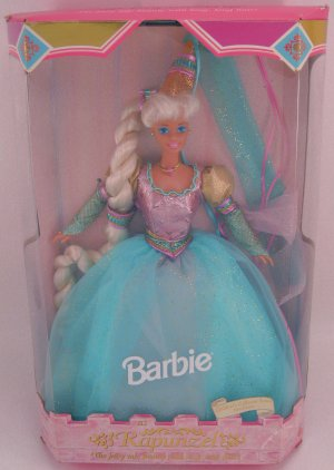 Barbie as Rapunzel Collector Edition doll NRFB 1994