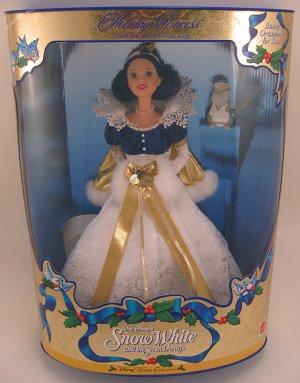 Holiday Princess Snow White collector doll Disney NRFB