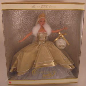 Celebration Barbie 2000 doll NRFB holiday collector