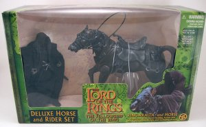 Ringwraith & Horse action figures Deluxe Set Lord of the Rings