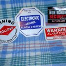 Security Alarm Window Stickers