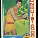 1974-75 Topps Jimmy O'Brien #236 ABA S. D. Conquistadors