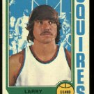 1974-75 Topps Larry Miller # 213  Virginia Squires ABA