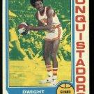 1974-75 Topps Dwight Lamar #177 ABA  S. D. Conquistadors