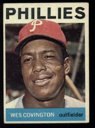 1964 Topps #208 Wes Covington Philadelphia Philles