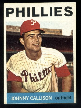 1964 Topps #135 Johnny Callison Philadelphia Phillies Ex++ o/c