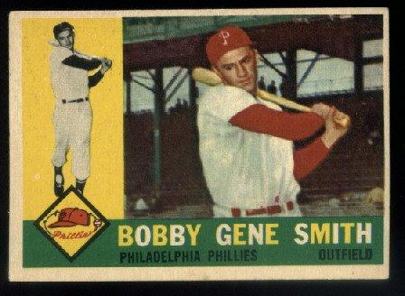 1960 Topps #194 Bobby Gene Smith Philadelphia Phillies
