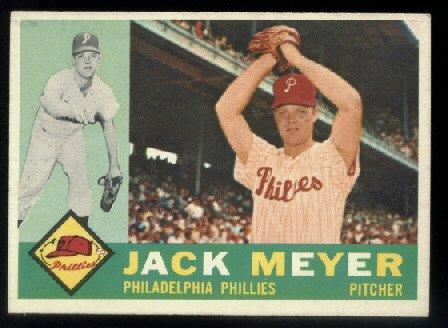 1960 Topps #64 Jack Meyer Philadelphia Phillies