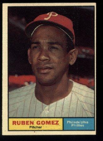 1961 Topps #377 Ruben Gomez Philadelphia Phillies