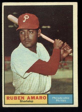 1961 Topps #103 Ruben Amaro   Philadelphia Phillies