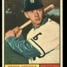 1961 Topps #13 Chuck Cottier  Detroit Tigers  baseball card