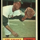 1961 Topps #18  Jim Grant  Cleveland Indians  baseball card