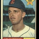 1961 Topps #462 Lou Klimchock RC Kansas City Athletics rookie baseball card