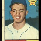 1961 #466 Ron Moeller RC Los Angeles Angels rookie baseball card