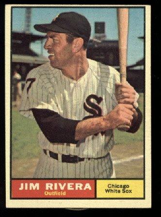 1961 #367 Jim Rivera  Chicago White Sox baseball card
