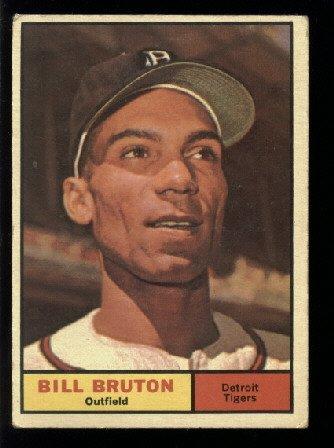 1961 Topps #251 Bill Bruton Detroit Tigers baseball card