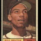 1961 Topps #251 Bill Bruton Detroit Tigers baseball card