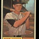 1961 Topps #267 Norm Siebern Kansas City Athletics baseball card