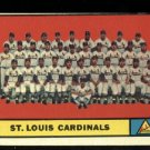 1961 Topps #347 St. Louis Cardinals Team baseball card