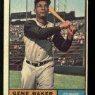 1961 Topps #339 Gene Baker Pittsburgh Pirates baseball card