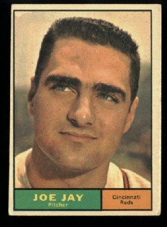 1961 Topps #233 Joe Jay Cincinnati Reds baseball card