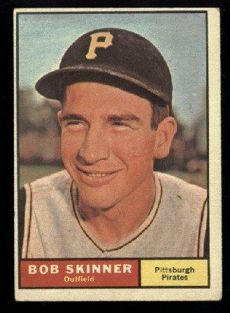 1961 Topps #204 Bob Skinner Pittsburgh Pirates baseball card