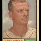 1961 Topps #206 Gene Green Washington Senators baseball card