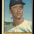 1961 Topps #507 Pete Burnside Washington Senators baseball card