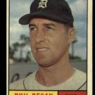 1961 Topps #439 Phil Regan Detroit Tigers baseball card