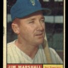 1961 Topps #188 Jim Marshall San Francisco Giants baseball card
