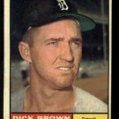 1961 Topps #192 Dick Brown Detroit Tigers baseball card