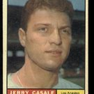 1961 Topps #195 Jerry Casale Los Angeles Angels baseball card
