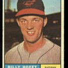 Nice 1961 Topps #256 Billy Hoeft Baltimore Orioles baseball card