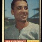1961 Topps #176 Ken Aspromonte Los Angeles Angels baseball card