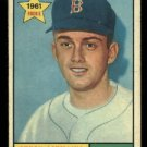 1961 Topps #499 Chuck Schilling RC Boston Red Sox rookie baseball card