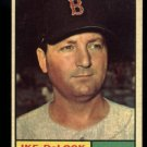 1961 Topps #268 Ike DeLock Boston Red Sox baseball card