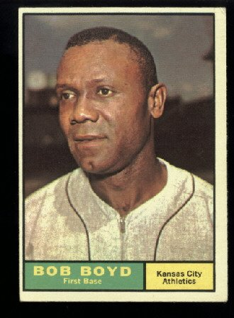 1961 Topps #199 Bob Boyd Kansas City Athletics baseball card