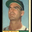 1961 Topps #145 Bob Buhl Milwaukee Braves baseball card