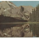 UNION OIL postcard of Lake Josephine, Glacier National Park  1948 Whitefish, Montana